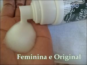 espuma de limpeza facial