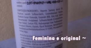 composição shampoo oro argan bioderm