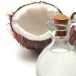 óleo de coco na pele