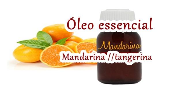 óleo de tangerina