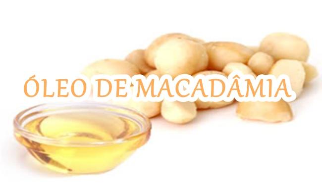 óleo de macadâmia