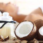 clarear manchas com óleo de coco
