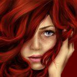 hidratação para cabelos ruivos