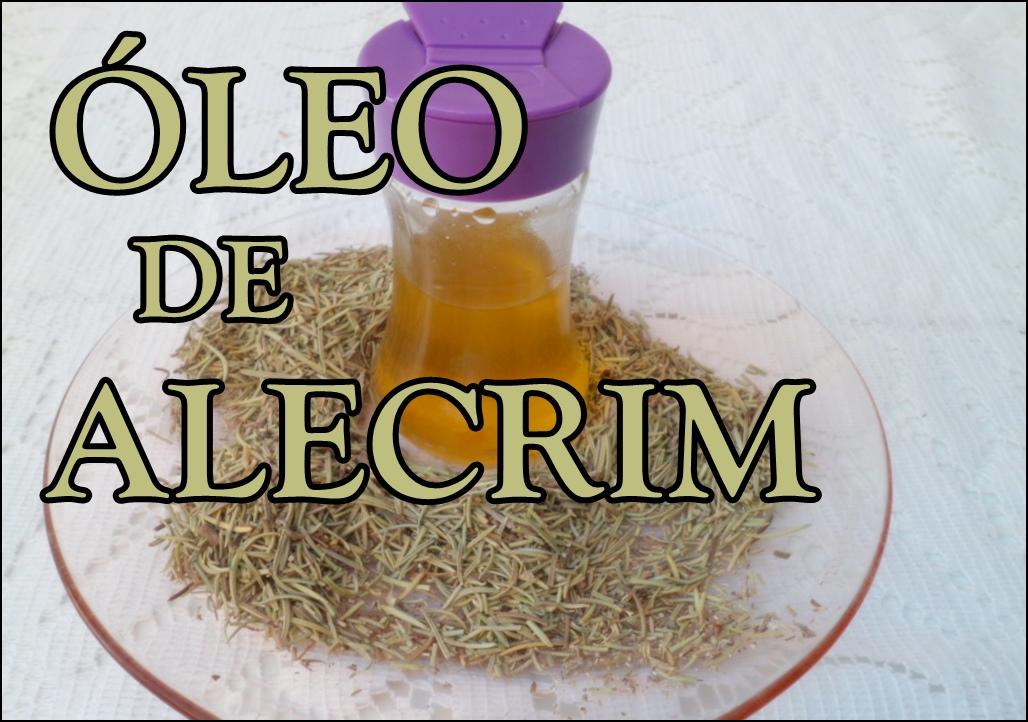 como fazer óleo de alecrim