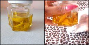 óleo de limão caseiro